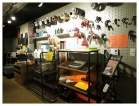(Image: Product Arrangements on the Showroom's North Wall)
